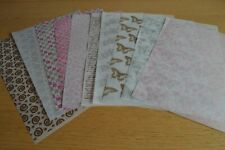 10 Assorted Sheets Patterned Vellum Set 1