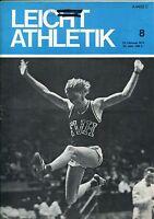 Leichtathletik Nr. 8/1972