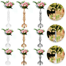 Flower Rack for Wedding Metal Candle Stand 4/11pcs Centerpiece Flower Vase