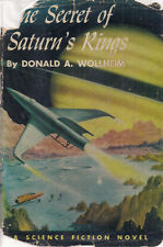 """Donald A. Wollheim """"The Secret of Saturn's Rings"""" (1959) 2nd Printing SciFi"""
