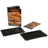 TEFAL Heart Shaped Waffle Set Box Plates Plate Snack Collection SnackTime
