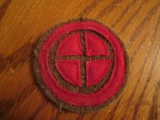 WWI US Army 35th Division Artillery patch AEF