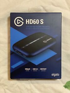 Elgato Game Capture HD60 S - Stream and Record in 1080p60 Open Box