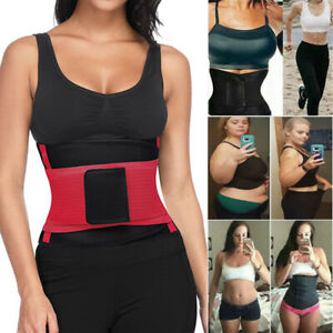 Women Men Hot Body Shaper Slimming Belt Waist Trainer Corset Underbust Sport Gym