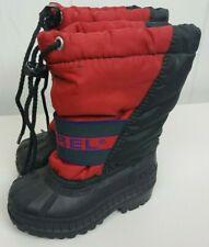 Sorel Toddler Boots Size 6 Red Black Winter