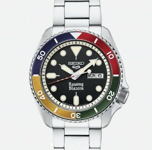 Seiko 5 Sports × Rowing Blazers Watch SRPG53 Color Block   Special Edition   NEW