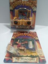 Harry Potter & The Sorcerer's Stone 3D Viewmaster NEW & Series 1 Windows