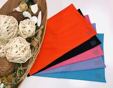 Pack of 5 Regular 8x10 MIX Fabric BOOK COVERS Stretchable Reusable Made in USA 2