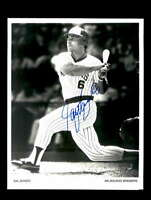 Sal Bando Hand Signed 8x10 Photo Autograph Milwaukee Brewers