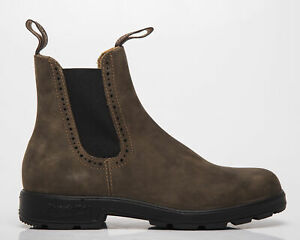 Blundstone 1351 Rustic Brown Women's Casual Lifestyle Shoes Chelsea Boots