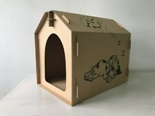 Seny Cardboard Dog House Pet House Tower Condo Apartment