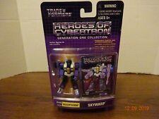 Transformers Heroes of Cybertron Gen 1 Decepticon Skywarp