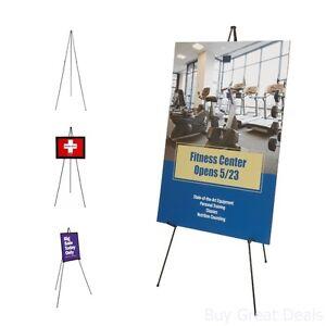 Tripod Base Quartet Easel Instant Display Presentation Photographers Even Folds