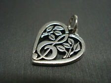 JAMES AVERY **TREBLE CLEF HEART CHARM** RETIRED