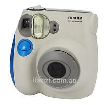 Fujifilm instax mini 7s polaroid camera blue colour