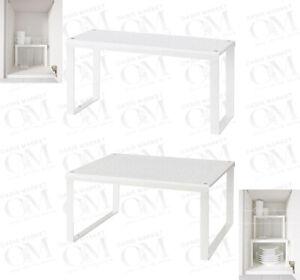 IKEA Shelf Insert Cupboard Organiser Kitchen Bathroom Storage Jar Spice Bottle