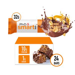 PhD Smart Bar Half size-24 pack (choose flavour)