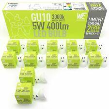 GU10 LED Light Bulbs 5w 12 Pack Warm White MONEYBACK GUARNTEE 3000k 400 Lumen...