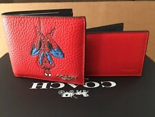 NWT 1845 Coach | Marvel 3-in-1 Wallet with Spider-Man