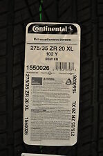 27535R20 CONTINENTAL EXTREMECONTACT DWS06 TIRE.#1550026.$249 EACH.