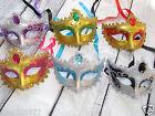 NEW MARDI GRAS masquerade party favor wedding decor MASKS 10 piece eye mask lot
