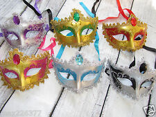 NEW MARDI GRAS masquerade party favor wedding decor MASKS  LOT of  10 mask ⭐️⭐️⭐
