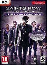 Saints Row The Third - The Full Package (PC-DVD) BRAND NEW SEALED