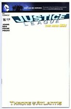 1)JUSTICE LEAGUE #16(3/13)BLANK VARIANT(BATMAN/SUPERMAN/WONDER WOMAN)CGC IT(9.8)