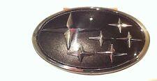 Subaru Impreza Black STI WRX Grille Badge Emblem Grill 1996-2000 Original