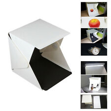 Folding Lightbox Portable Photography Studio Softbox LED Light Soft Box Cube US