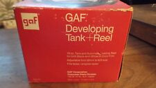 Vintage Gaf Developing Tank and Reel F-698 Adjustable Size 35mm-620 w/Box!