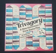 TRIVAGORY A New Dimension in Trivia Game Play - 1988 Unopened