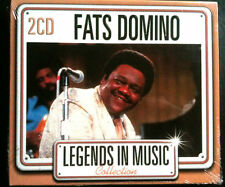 LEGENDS IN MUSIC COLLECTION - FATS DOMINO - 2 CD NEUF -