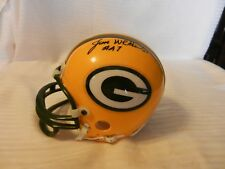 Jesse Whittenton #47 Green Bay Packers Signed Mini Helmet