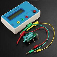 Transistor LCR Tester Analizador de dispositivo semiconductor ESR TR \ LCR \ ESR MK-168
