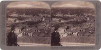 Italia Etna Catania Italia Foto Stereo Stereoview di Carta Citrato Vintage