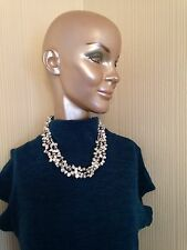 FRESHWATER, PEARL, NECKLACE., WITH MATCHING, EARRINGS