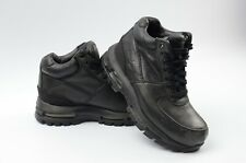Nike Air Max Goadome GS Youth Size 4Y ACG Triple Black Leather Boot 311567-001