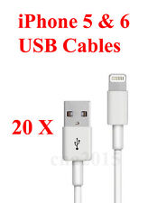 20 x 10 Feet Long 8 Pin USB Charger Cord Sync Data Cable for iPhone 5 5S C 6 6S