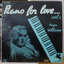 ROGER WILLIAMS PIANO FOR LOVE VOL.2 25 cm FRENCH LP VERSAILLES 1958