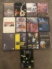 More details for rock music dvd lob lot - 13 dvd's
