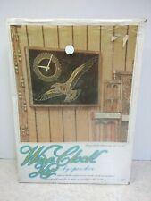 "Vintage Wire Clock Kit by Open Door - Seagull 12"" x 16"""