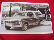 1974 FORD F100 RANGER PICKUP    BIG 11 X 17  PHOTO /  PICTURE