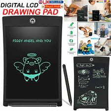 """8.5"""" LCD Digital Elctronic escribir tablet dibujo gráfico Board Niños Bloc de notas Reino Unido"""