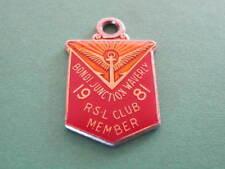 Bondi Junction Waverley RSL Club Member Badge
