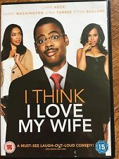 Chris Rock Kerry Washington I THINK I LOVE MY WIFE ~ 2007 Romantic Drama UK DVD
