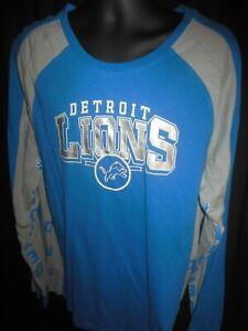 Detroit Lions NFL Men's G-III Hands/High Long Sleeve Shirt XL or XXL