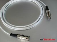 10 M. BeoLab Speaker Cable for Bang & Olufsen B&O PowerLink Mk2 (White,SHQ)