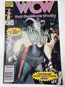 Marvel Comics WCW WORLD CHAMPIONSHIP WRESTLING LOT Issue 2,5,11,12