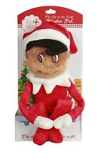 NEW ELF ON THE SHELF STUFFED SOFT PLUSH DARK SKIN BOY 19""